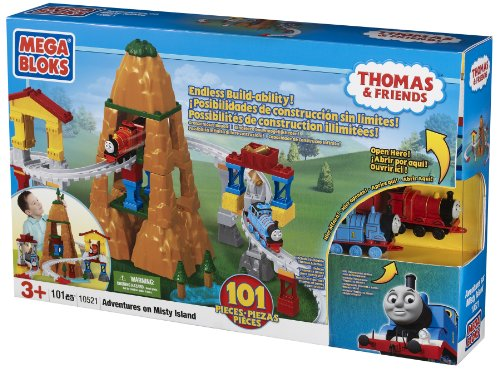 メガブロック きかんしゃトーマス トーマス&フレンズ 組み立て 知育玩具 10521 Mega Bloks Thomas Adventure on Misty Islandメガブロック きかんしゃトーマス トーマス&フレンズ 組み立て 知育玩具 10521