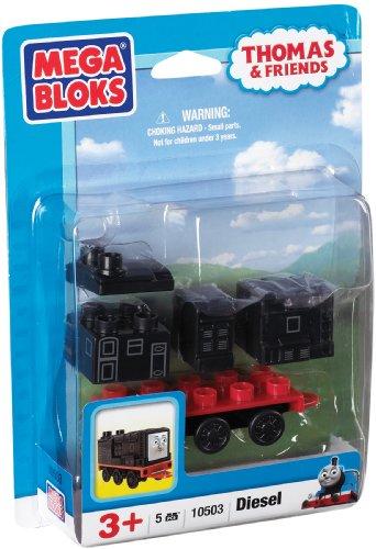 メガブロック きかんしゃトーマス トーマス&フレンズ 組み立て 知育玩具 10503U Mega Bloks Thomas Buildable Character Dieselメガブロック きかんしゃトーマス トーマス&フレンズ 組み立て 知育玩具 10503U