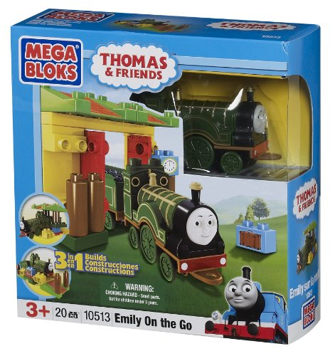 メガブロック きかんしゃトーマス トーマス&フレンズ 組み立て 知育玩具 10513U Mega Bloks Thomas 3-in-1 Buildable Emily on the Goメガブロック きかんしゃトーマス トーマス&フレンズ 組み立て 知育玩具 10513U