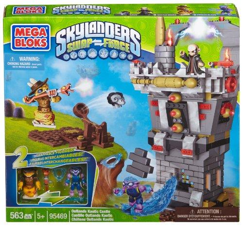 メガブロック スカイレンジャー 組み立て 知育玩具 CXM18 Mega Bloks Skylanders Outlands Kaotic Castleメガブロック スカイレンジャー 組み立て 知育玩具 CXM18