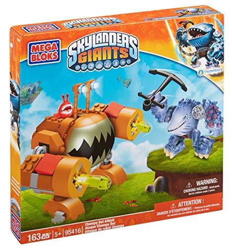 メガブロック スカイレンジャー 組み立て 知育玩具 DBG43 Mega Bloks Skylanders Chompy Bot Attackメガブロック スカイレンジャー 組み立て 知育玩具 DBG43
