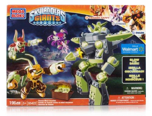メガブロック スカイレンジャー 組み立て 知育玩具 95422U Mega Bloks Skylanders Giants 95422 Swarm Mech Invasionメガブロック スカイレンジャー 組み立て 知育玩具 95422U