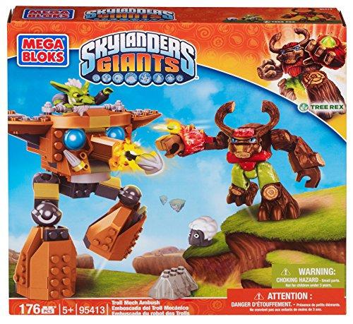 メガブロック スカイレンジャー 組み立て 知育玩具 95413 【送料無料】Mega Bloks Skylanders Troll Mech Ambushメガブロック スカイレンジャー 組み立て 知育玩具 95413