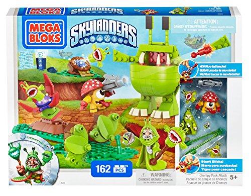 メガブロック スカイレンジャー 組み立て 知育玩具 DBG47 Mega Bloks Skylanders Chompy Pack Attackメガブロック スカイレンジャー 組み立て 知育玩具 DBG47