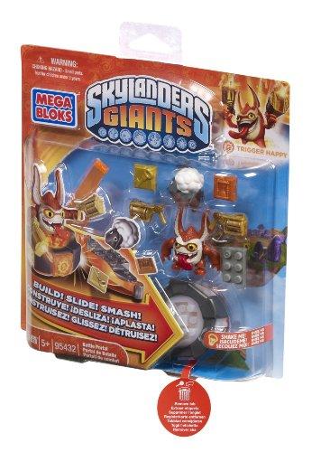 メガブロック スカイレンジャー 組み立て 知育玩具 DBG33 Mega Bloks Skylanders Trigger Happy's Battle Portalメガブロック スカイレンジャー 組み立て 知育玩具 DBG33