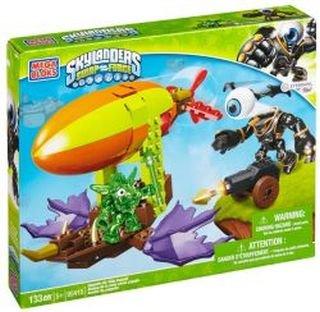 メガブロック スカイレンジャー 組み立て 知育玩具 【送料無料】Skylanders Zeppin Airship [Toy]メガブロック スカイレンジャー 組み立て 知育玩具