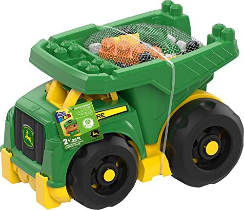 メガブロック メガコンストラックス 組み立て 知育玩具 DBL30 Mega Bloks John Deere Dump Truckメガブロック メガコンストラックス 組み立て 知育玩具 DBL30