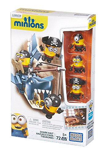 メガブロック メガコンストラックス ミニオンズ 組み立て 知育玩具 CNF54 Mega Construx Minions Shark Bait Figure Packメガブロック メガコンストラックス ミニオンズ 組み立て 知育玩具 CNF54
