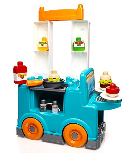 メガブロック メガコンストラックス 組み立て 知育玩具 DPJ55 Mega Kitchen Bloks First 知育玩具 Builders 組み立て Food Truck Kitchen Building Setメガブロック メガコンストラックス 組み立て 知育玩具 DPJ55, 家具通販のステップワン:d8524e20 --- loveszsator.hu