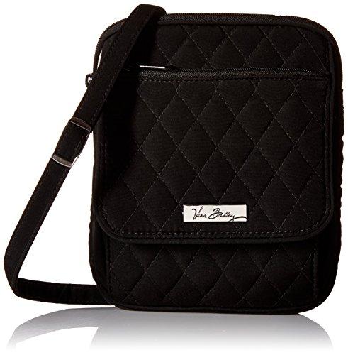 ヴェラブラッドリー ベラブラッドリー アメリカ フロリダ州マイアミ 日本未発売 Vera Bradley Mini Hipster Cross Body/Shoulder Bag in Classic Blackヴェラブラッドリー ベラブラッドリー アメリカ フロリダ州マイアミ 日本未発売