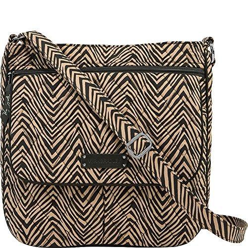 ヴェラブラッドリー ベラブラッドリー アメリカ フロリダ州マイアミ 日本未発売 14968713 Vera Bradley Women's Double Zip Mailbag Zebraヴェラブラッドリー ベラブラッドリー アメリカ フロリダ州マイアミ 日本未発売 14968713