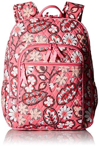 ヴェラブラッドリー ベラブラッドリー アメリカ フロリダ州マイアミ 日本未発売 Campus Backpack Women's Campus Tech Backpack, Signature Cotton, Blush Pinkヴェラブラッドリー ベラブラッドリー アメリカ フロリダ州マイアミ 日本未発売 Campus Backpack