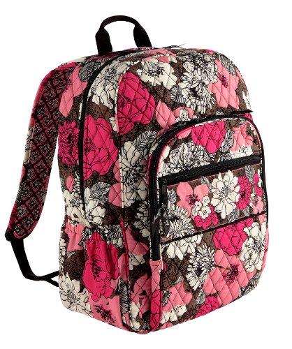 ヴェラブラッドリー ベラブラッドリー アメリカ フロリダ州マイアミ 日本未発売 【送料無料】Very Bradley Campus Backpack in Mocha Rougeヴェラブラッドリー ベラブラッドリー アメリカ フロリダ州マイアミ 日本未発売