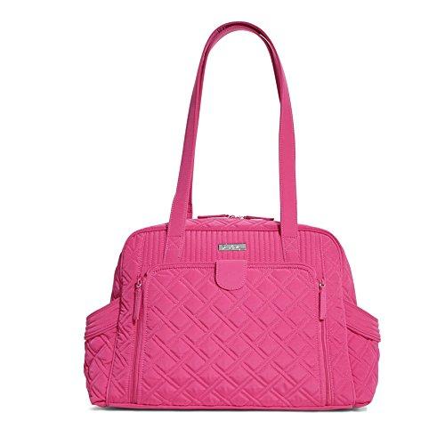 ヴェラブラッドリー ベラブラッドリー アメリカ フロリダ州マイアミ 日本未発売 12879-478 Vera Bradley Make A Change Baby Fuchsia Pink Diaper Bag Carrier Toteヴェラブラッドリー ベラブラッドリー アメリカ フロリダ州マイアミ 日本未発売 12879-478