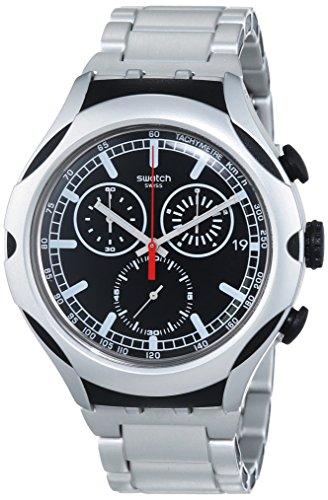 スウォッチ 腕時計 メンズ YYS4000AG 【送料無料】Swatch Men's YYS4000AG Irony Analog Display Swiss Quartz Silver Watchスウォッチ 腕時計 メンズ YYS4000AG