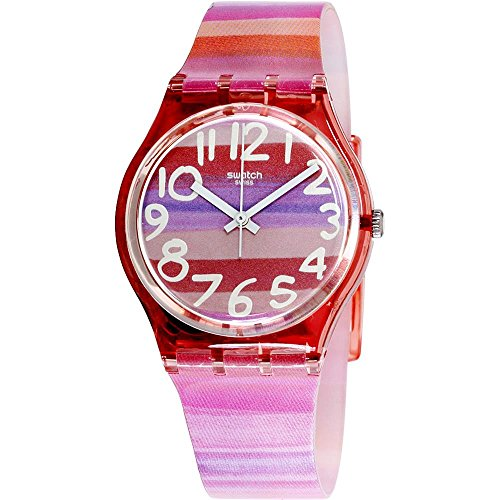 スウォッチ 腕時計 レディース GP140 Swatch Atilbe Graphic Dial Plastic Quartz Ladies Watch GP140スウォッチ 腕時計 レディース GP140