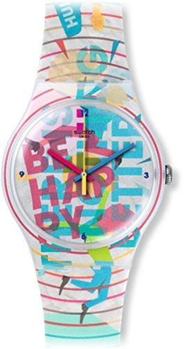 スウォッチ 腕時計 メンズ SUOZ196 【送料無料】Swatch Unisex SUOZ196 Analog Display Quartz Multi-Color Watchスウォッチ 腕時計 メンズ SUOZ196