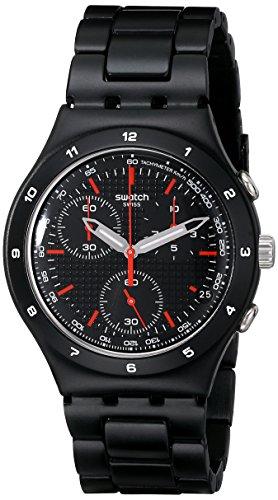 スウォッチ 腕時計 メンズ YCB4019AG Swatch Unisex YCB4019AG Aluminum Black Dial Watchスウォッチ 腕時計 メンズ YCB4019AG