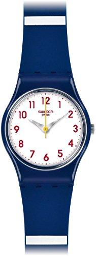 スウォッチ 腕時計 メンズ LN149 【送料無料】Swatch Matelot White Dial Blue Plastic Band Quartz Woman's Watch LN149スウォッチ 腕時計 メンズ LN149