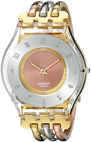 スウォッチ 腕時計 レディース SFK240B Swatch Women's SFK240B Quartz Stainless Steel Gray And Pink Dial Watchスウォッチ 腕時計 レディース SFK240B