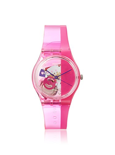 スウォッチ 腕時計 メンズ GP145 Swatch Unisex GP145 Pinkorama? Analog Display Quartz Pink Watchスウォッチ 腕時計 メンズ GP145