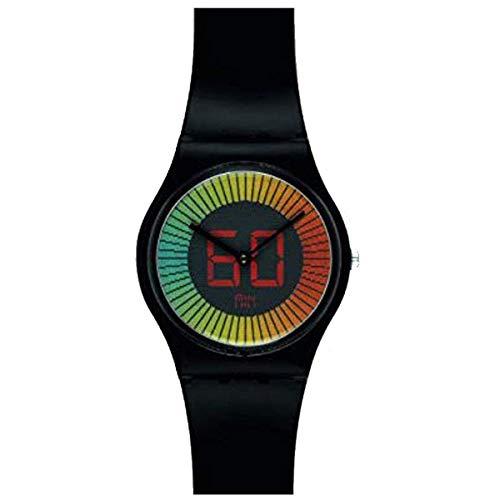 スウォッチ 腕時計 メンズ GB277 Swatch GB277 Speed Around Multicolor Ana Digi Dial Black Unisex Watch NEWスウォッチ 腕時計 メンズ GB277