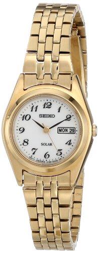 セイコー 腕時計 レディース SUT118 【送料無料】Seiko Women's SUT118 Gold-Tone Stainless Steel Watchセイコー 腕時計 レディース SUT118