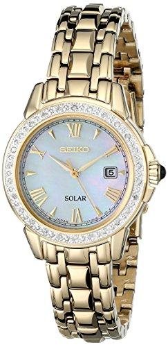 セイコー 腕時計 レディース SUT172 【送料無料】Seiko Women's SUT172 Analog Display Japanese Quartz Gold Watchセイコー 腕時計 レディース SUT172