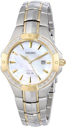 セイコー 腕時計 レディース 夏のボーナス特集 SUT124 Seiko Women's SUT124 Analog Display Japanese Quartz Two Tone Watchセイコー 腕時計 レディース 夏のボーナス特集 SUT124