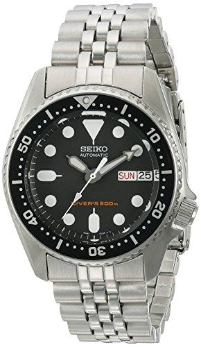セイコー 腕時計 メンズ 夏のボーナス特集 SKX013K2 Seiko SKX013K2 Black Dial Automatic Divers Midsize Watchセイコー 腕時計 メンズ 夏のボーナス特集 SKX013K2