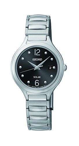 セイコー 腕時計 レディース SUT177 【送料無料】Seiko Women's SUT177 Solar-Power Stainless Steel Watchセイコー 腕時計 レディース SUT177