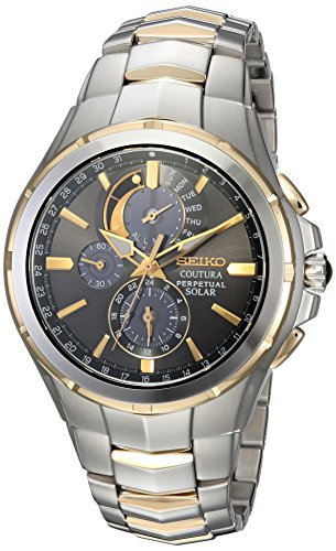 セイコー 腕時計 メンズ SSC376 【送料無料】Seiko Men's COUTURA Japanese-Quartz Watch with Two-Tone-Stainless-Steel Strap, 12 (Model: SSC376)セイコー 腕時計 メンズ SSC376