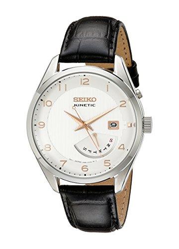 セイコー 腕時計 メンズ SRN049 【送料無料】Seiko Men SRN049 Kinetic Stainless Steel Watchセイコー 腕時計 メンズ SRN049