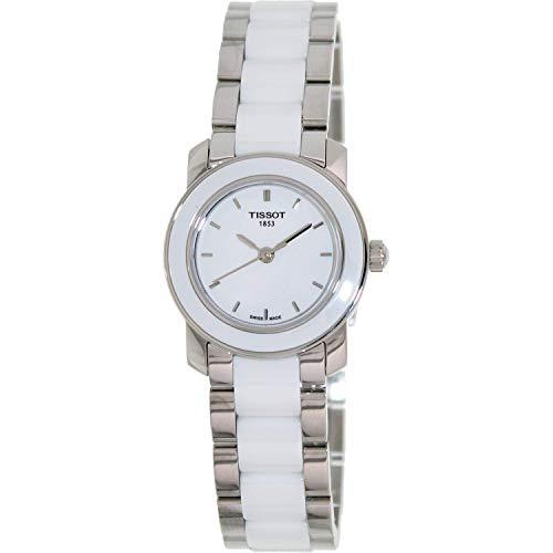 ティソ 腕時計 レディース T0642102201100 【送料無料】Tissot Women's T0642102201100 Cera 銀-Tone Ceramic Watchティソ 腕時計 レディース T0642102201100