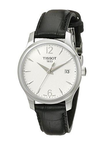 ティソ 腕時計 レディース T0632101603700 【送料無料】Tissot Women's T0632101603700 Tradition Analog Display Swiss Quartz Black Watchティソ 腕時計 レディース T0632101603700
