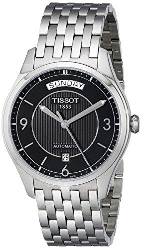 腕時計 ティソ メンズ T0384301105700 【送料無料】Tissot Men's T0384301105700 T-One Day-Date Calendar Watch腕時計 ティソ メンズ T0384301105700