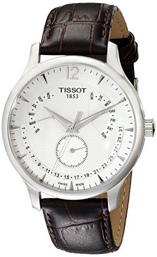 ティソ 腕時計 メンズ T0636371603700 【送料無料】Tissot Men's T0636371603700 Stainless Steel Watch With Brown Bandティソ 腕時計 メンズ T0636371603700
