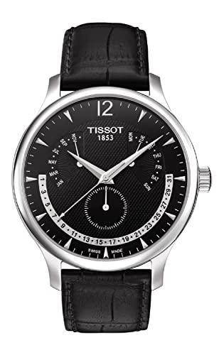 ティソ 腕時計 メンズ T063.637.16.057.00 【送料無料】Tissot Men's T063.637.16.057.00 Black Dial Watchティソ 腕時計 メンズ T063.637.16.057.00