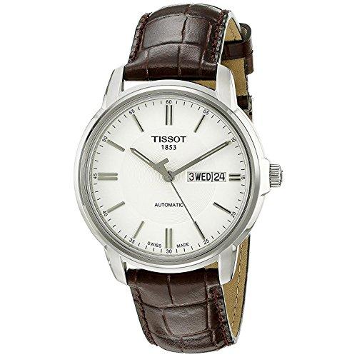 ティソ 腕時計 メンズ T0654301603100 【送料無料】Tissot Men's T0654301603100 Automatic III Swiss Automatic Watch with Brown Bandティソ 腕時計 メンズ T0654301603100