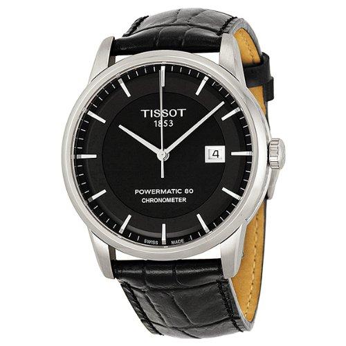 ティソ 腕時計 メンズ T0864081605100 Tissot Men's T0864081605100 Luxury Analog Display Swiss Automatic Black Watchティソ 腕時計 メンズ T0864081605100