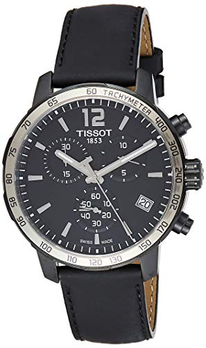 ティソ 腕時計 メンズ T0954173605702 Tissot Men's T0954173605702 Analog Display Swiss Quartz Black Watchティソ 腕時計 メンズ T0954173605702