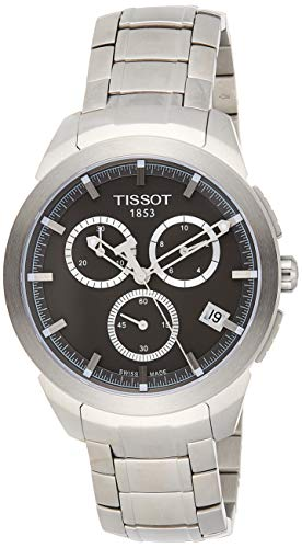 ティソ 腕時計 メンズ T0694174406100 Tissot Men's T0694174406100 Quartz Titanium Grey Dial Chronograph Watchティソ 腕時計 メンズ T0694174406100