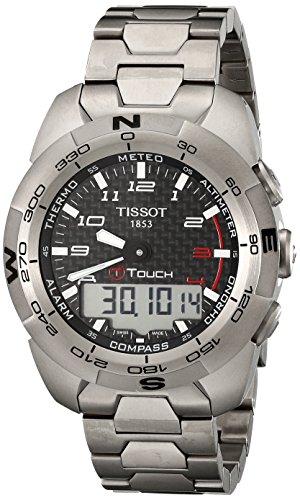 ティソ 腕時計 メンズ T0134204420200 【送料無料】Tissot Men's T0134204420200 T-Touch Expert Titanium Watchティソ 腕時計 メンズ T0134204420200