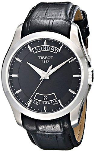 ティソ 腕時計 メンズ T0354071605100 【送料無料】Tissot Men's T0354071605100 Couturier Day-Date Calendar Watchティソ 腕時計 メンズ T0354071605100