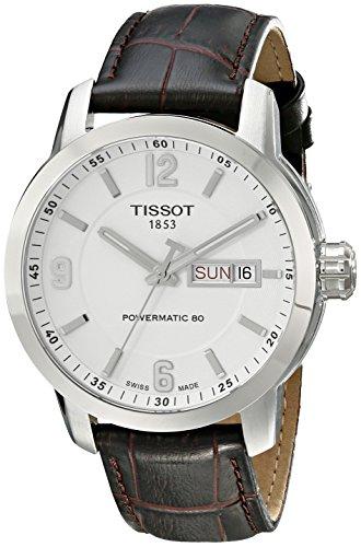ティソ 腕時計 メンズ T0554301601700 Tissot Men's T0554301601700 PRC 200 Stainless Steel Watch with Brown Leather Strapティソ 腕時計 メンズ T0554301601700