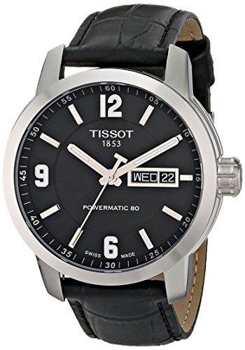 ティソ 腕時計 メンズ T0554301605700 【送料無料】Tissot Men's T0554301605700 PRC 200 Analog Display Swiss Automatic Black Watchティソ 腕時計 メンズ T0554301605700