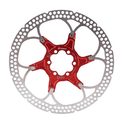 ブレーキ パーツ 自転車 コンポーネント サイクリング Formula Formula Disc Rotor Alloy 160mm 6 bolt Redブレーキ パーツ 自転車 コンポーネント サイクリング Formula