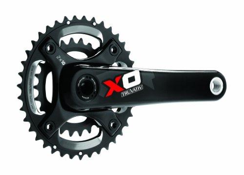 クランク パーツ 自転車 コンポーネント サイクリング CR3340 Truvativ X.0 GXP 2.2 10-Speed 175 42-28T Crankset (Red)クランク パーツ 自転車 コンポーネント サイクリング CR3340