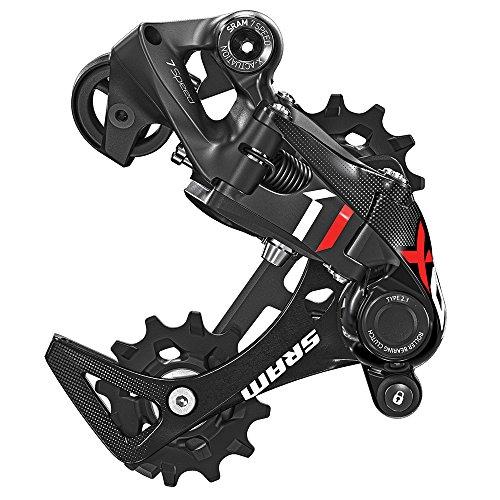 ディレイラーポスト パーツ 自転車 コンポーネント サイクリング 00.7518.067.003 SRAM X01 DH Type 2.1 7-Speed Rear Derailleur, Medium Cage, Redディレイラーポスト パーツ 自転車 コンポーネント サイクリング 00.7518.067.003
