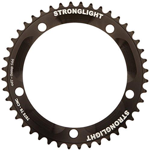チェーンリング ギア パーツ 自転車 コンポーネント RZ144P50 StrongLight Zicral 7075 Track 1/8 inch 144mm Black Chainring - 50Tチェーンリング ギア パーツ 自転車 コンポーネント RZ144P50